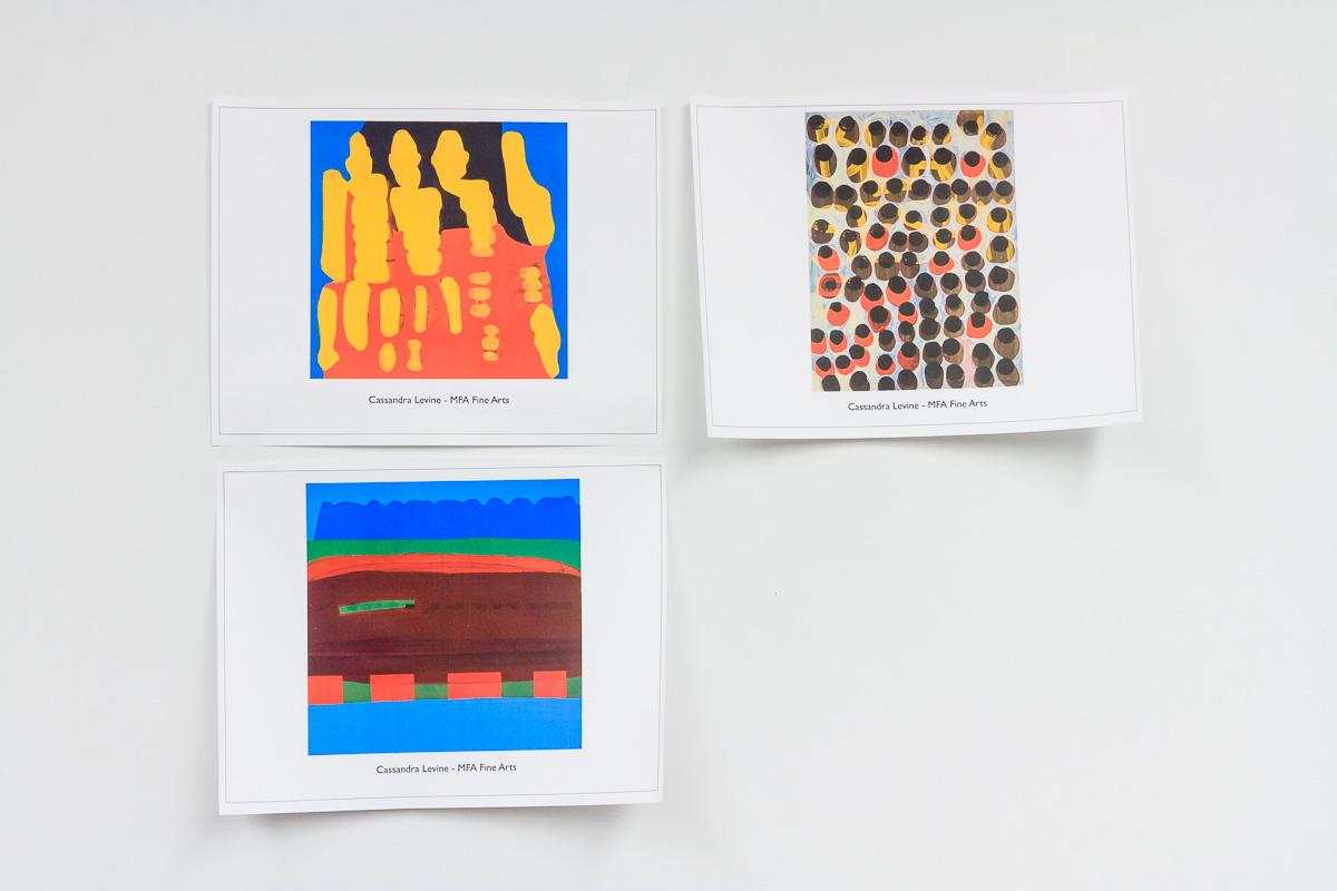 Works by Cassandra Levine - MFA Fine Arts