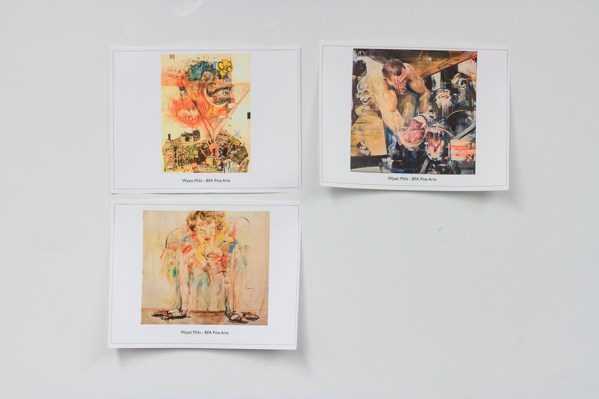 Works by Wyatt Mills - BFA Fine Arts