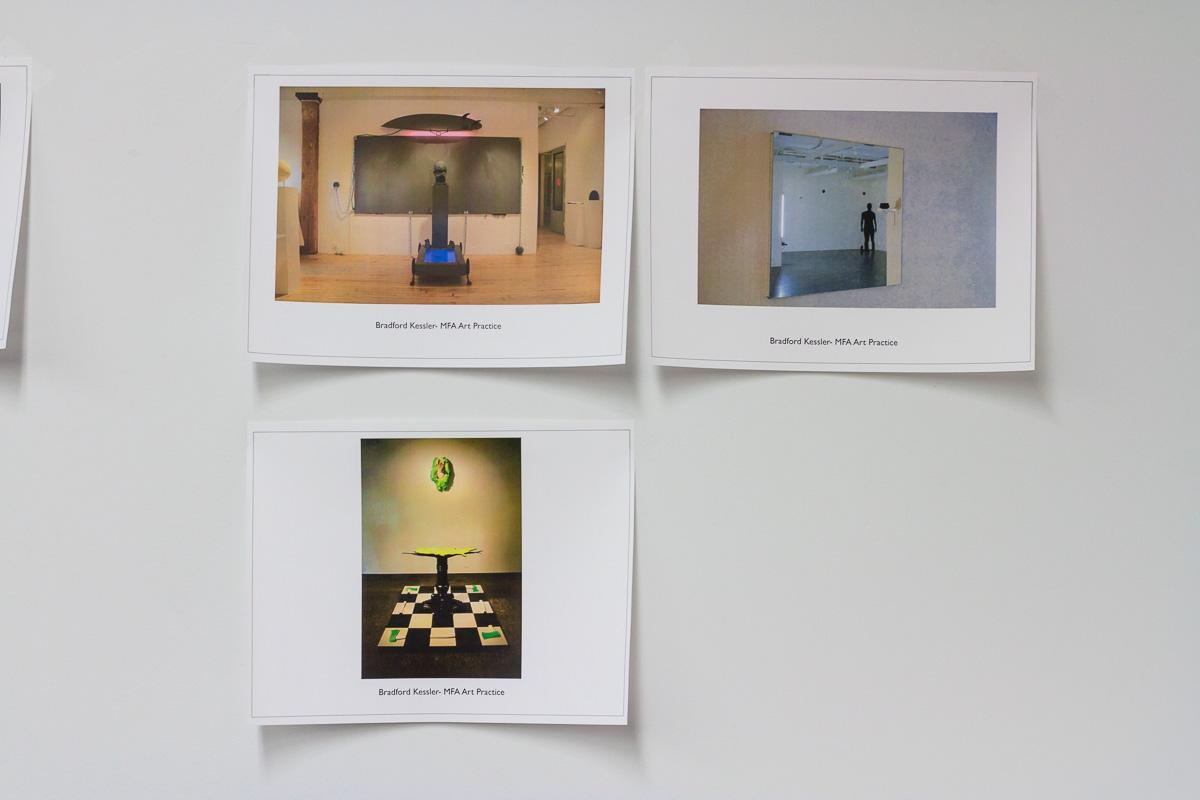 Works by Bradford Kessler - MFA Art Practice