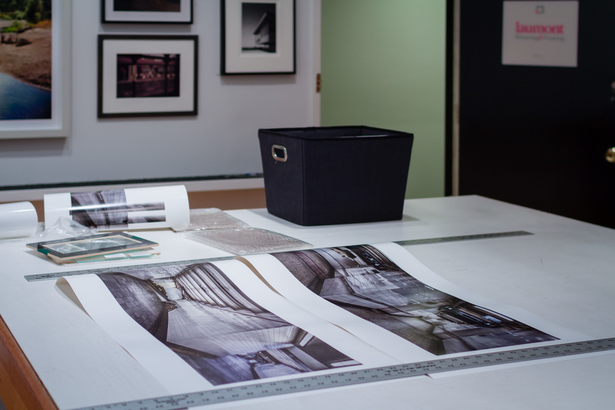 Exhibition Prints Ready for Framing