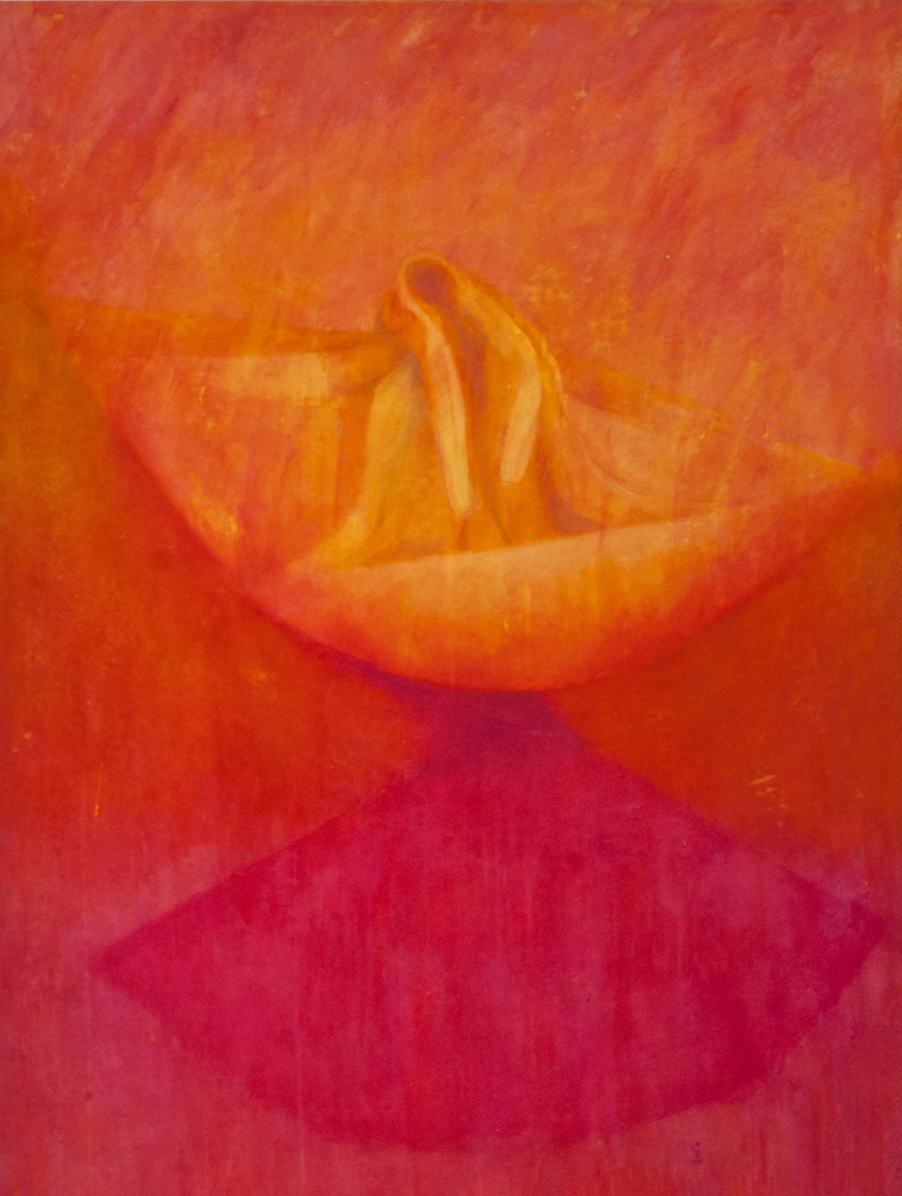 Early Morning 2. 2012.  Acrylic on calico 160 x 120 cm