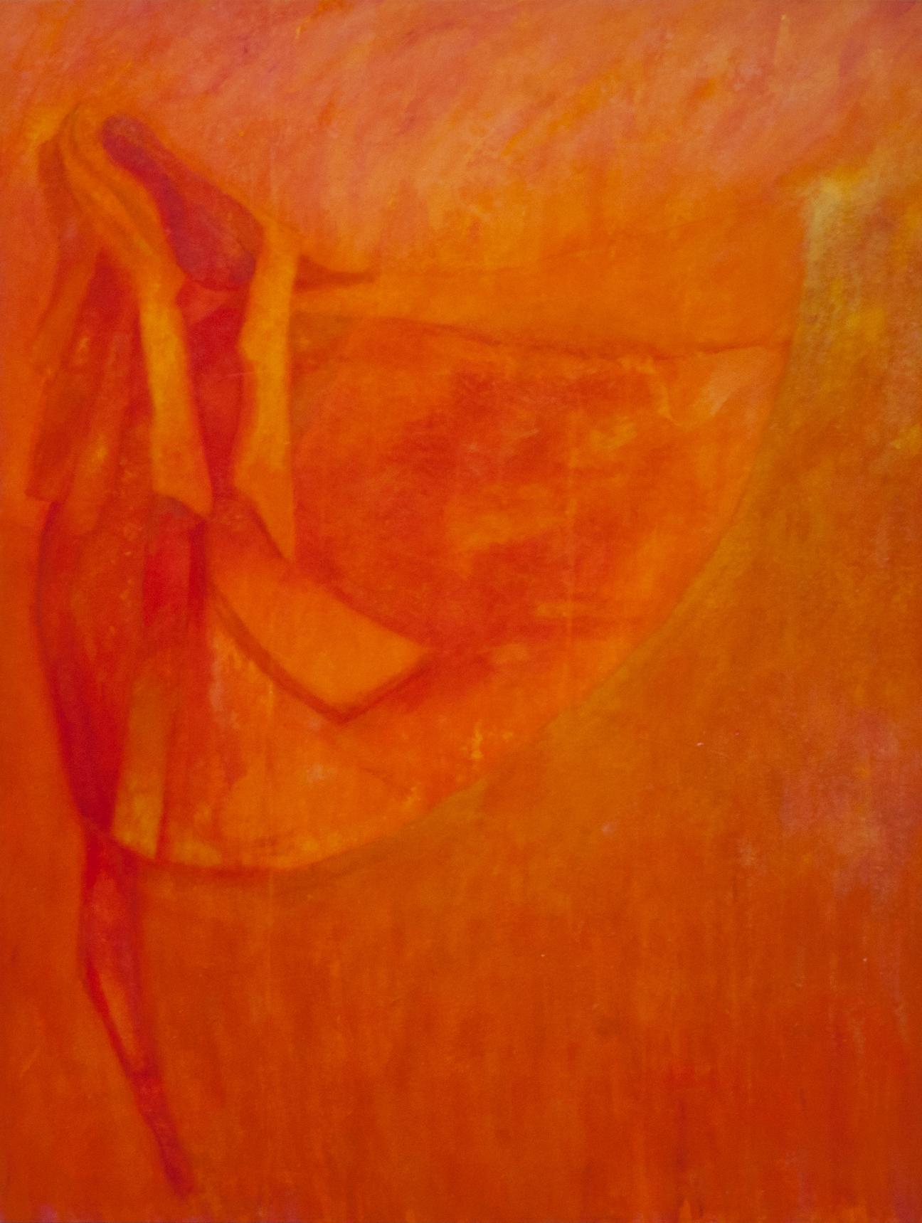 Early Morning 1. 2012 Acrylic on calico 160 x 120cm