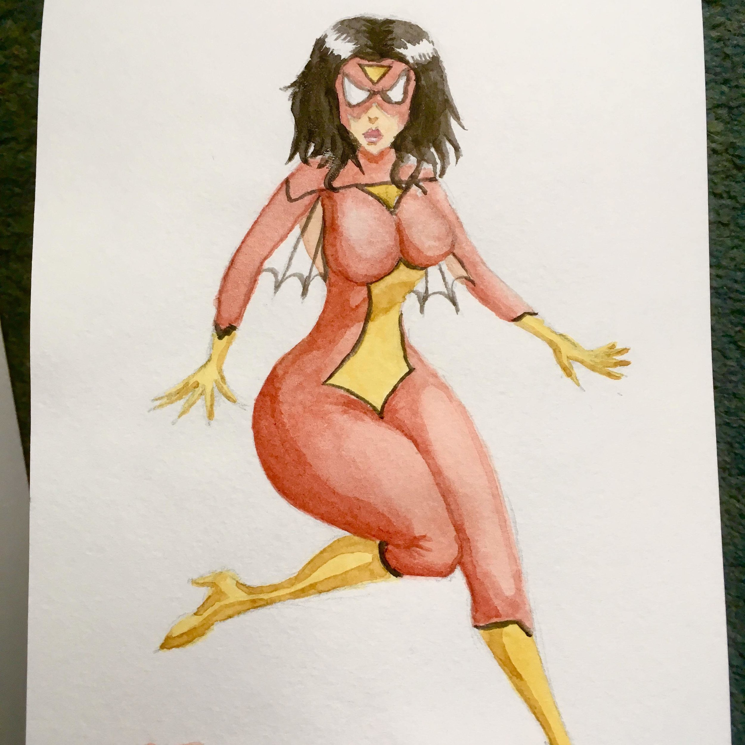 Spider-Woman Toon