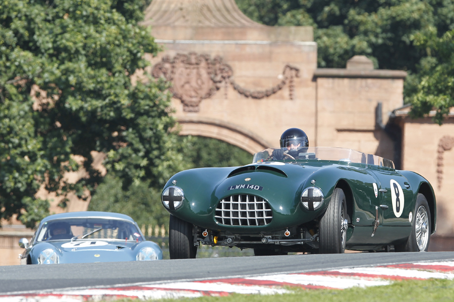1955 Maurice Gomm body on 1955 XK140 chassis and running gear = Gomm Jaguar Special. Driven by Charles Fripp.     Photo - Mick Walker