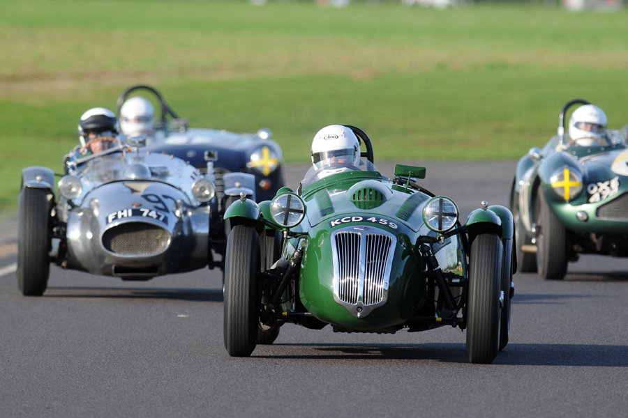 Cycle Wings. Frazer Nash leads Wingfield.