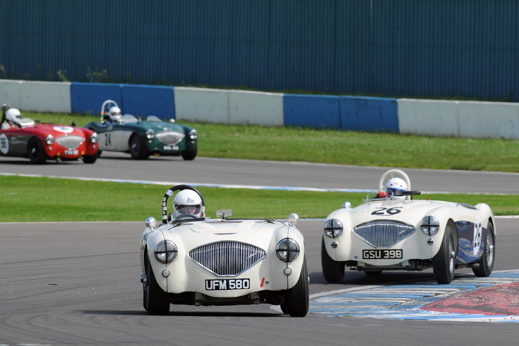 Matching pair - Andrew Dixey and Nigel Grice                              Photo - Steve Jones