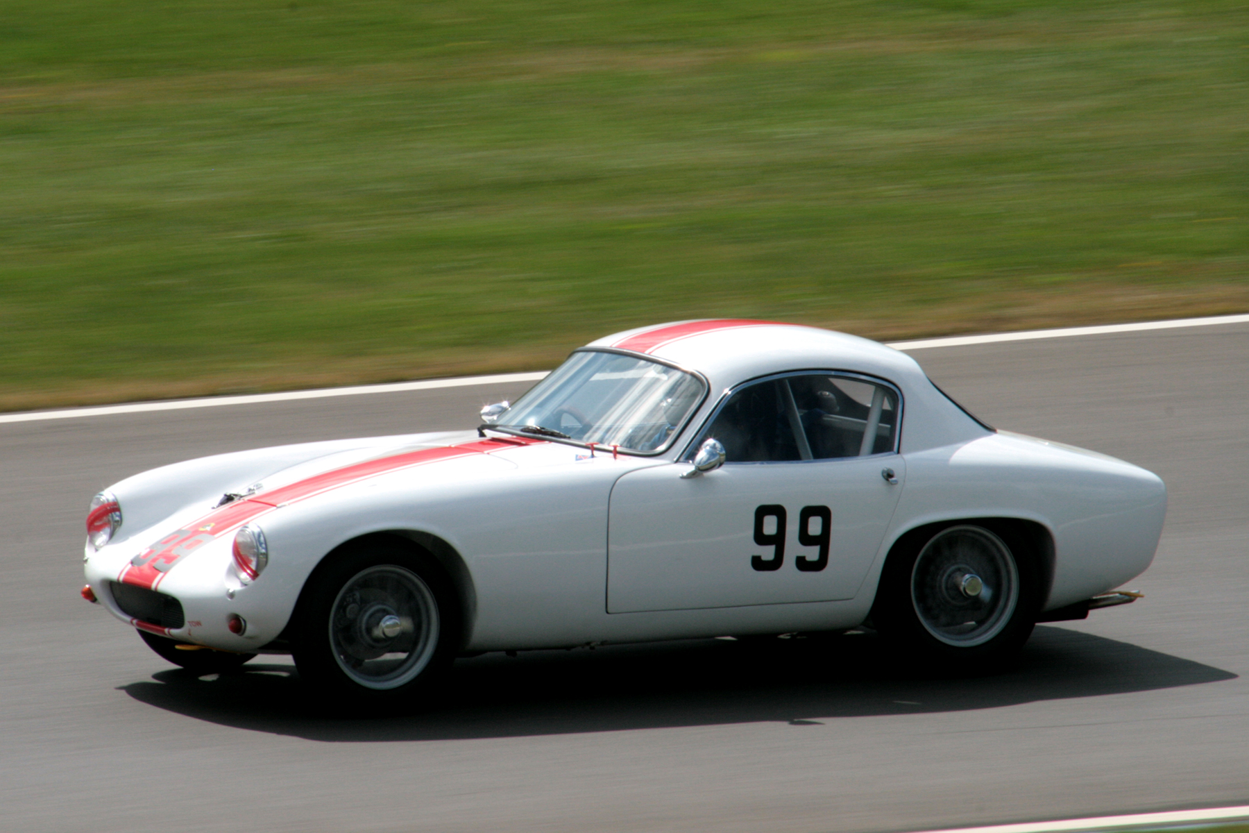 Another FISCAR newcomer - John Waterson in his Lotus Elite                                         Photo - John  Turner