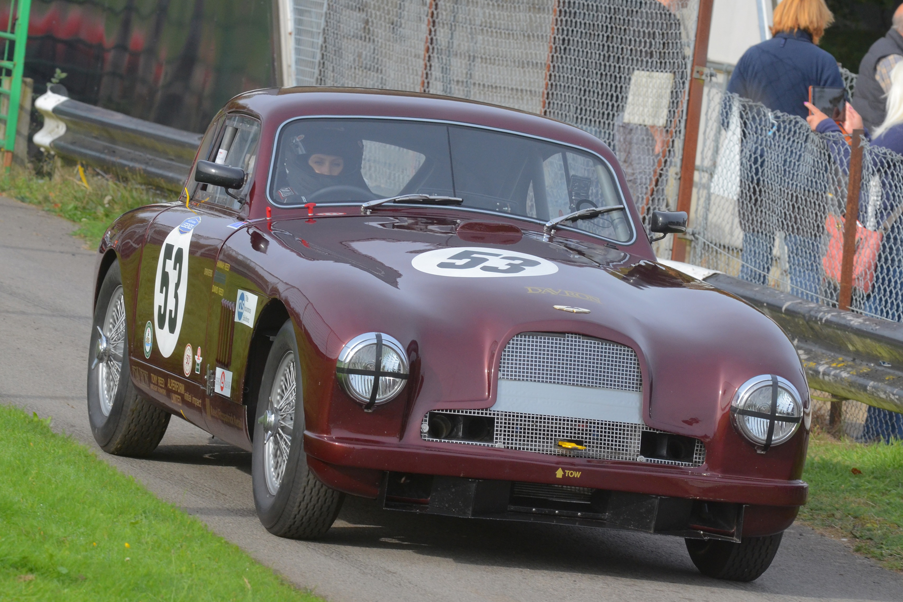 Hannah Reed takes the DB2 out for qualifying                                                                Photo - Ollie Read