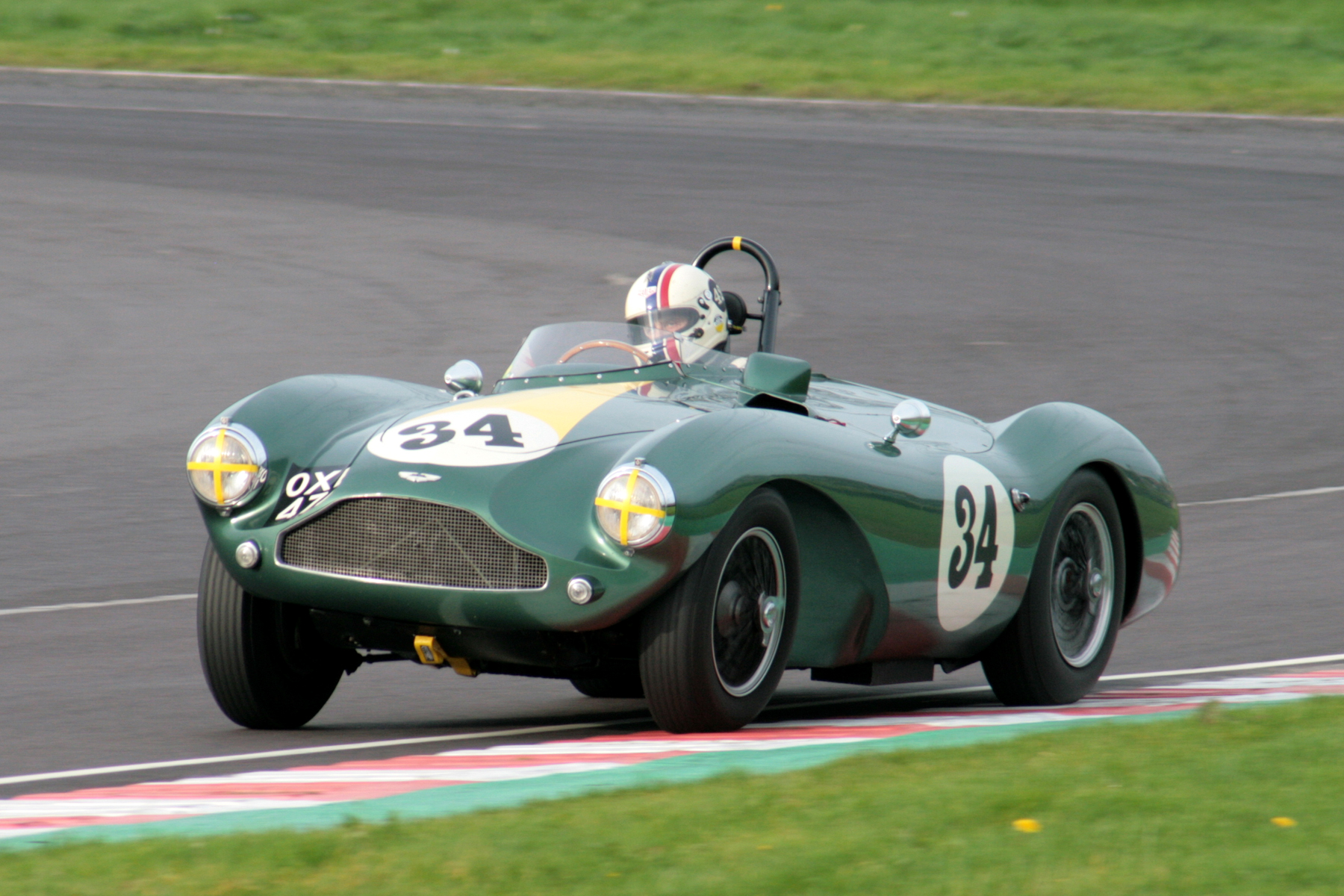 You can never have enough photos of the Aston Martin DB3S. This is Steve Boultbee-Brooks on his way to 5th.  Photo - John Turner