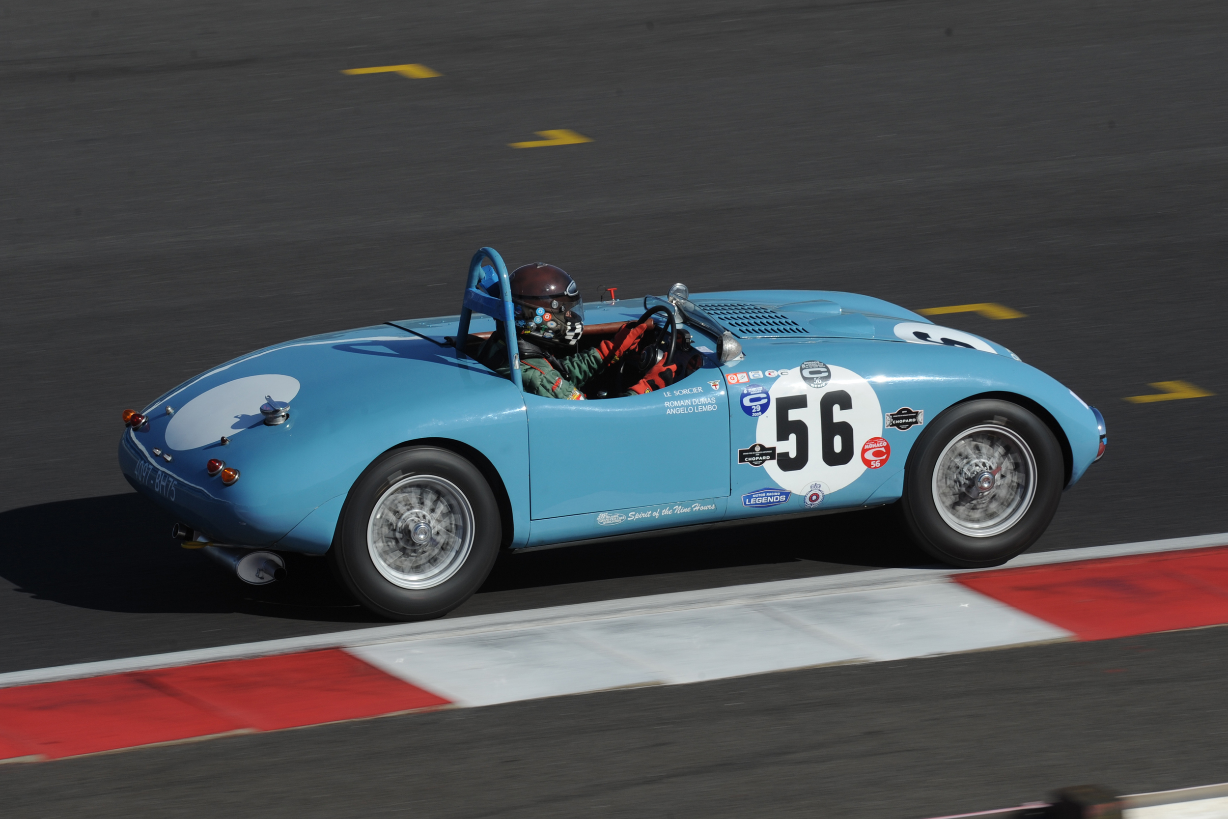 First time in the race was eddie Mcguire in his Gordini T23S                                 Photo - Jeff Bloxham