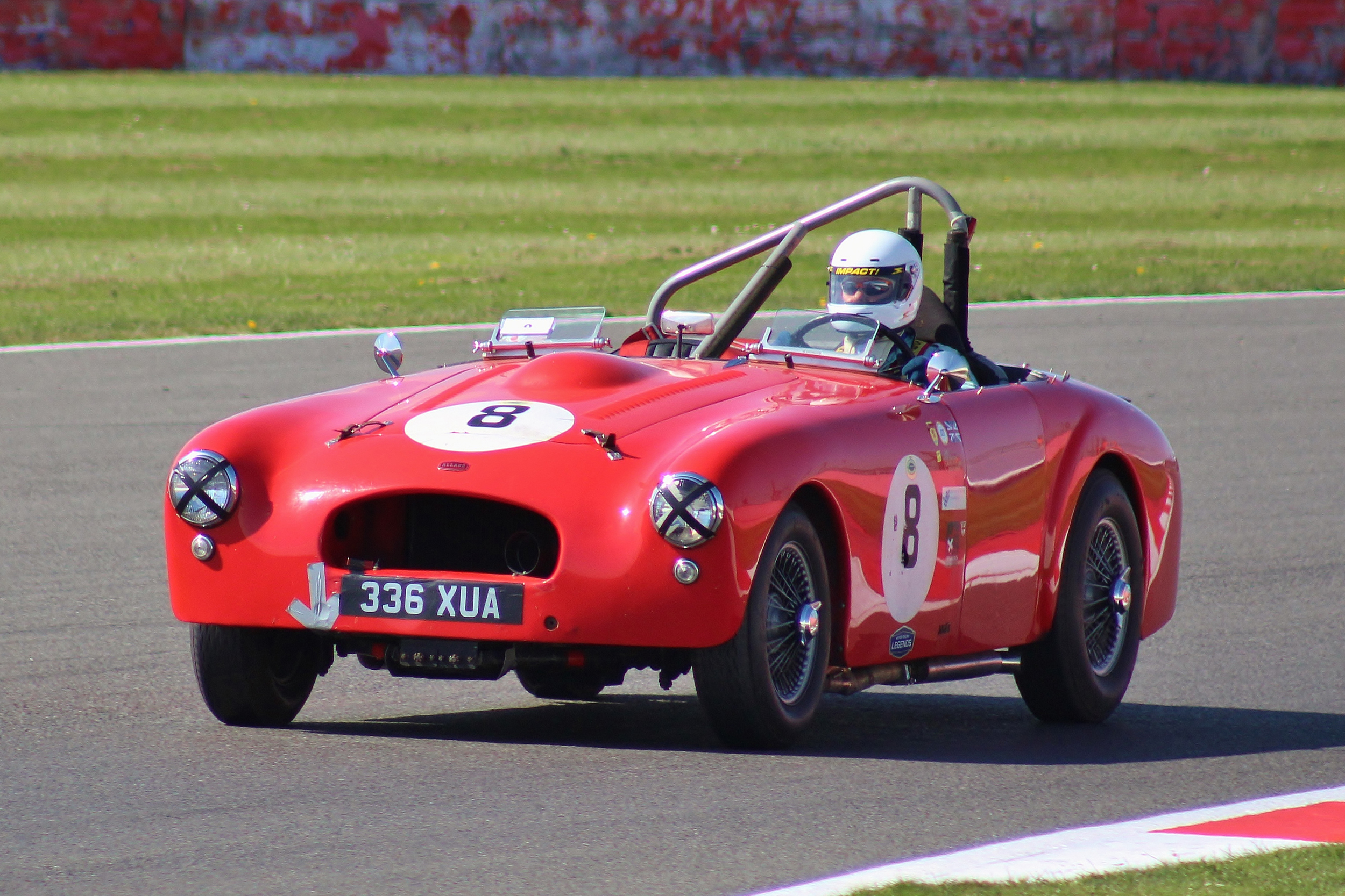 Another newcomer to the race was Mark Butterworth in the big Allard K3      Bob Bull -Tripos Media,