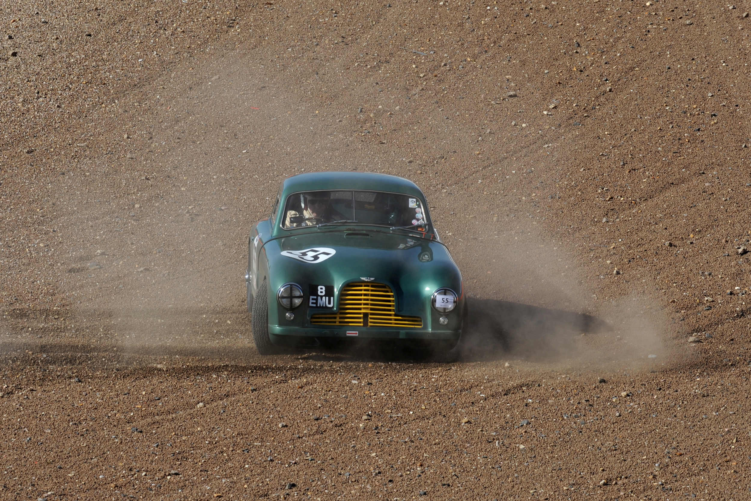 Andy Sharps 'disconcerting' moment in qualifying.                      Photo - Jeff Bloxham