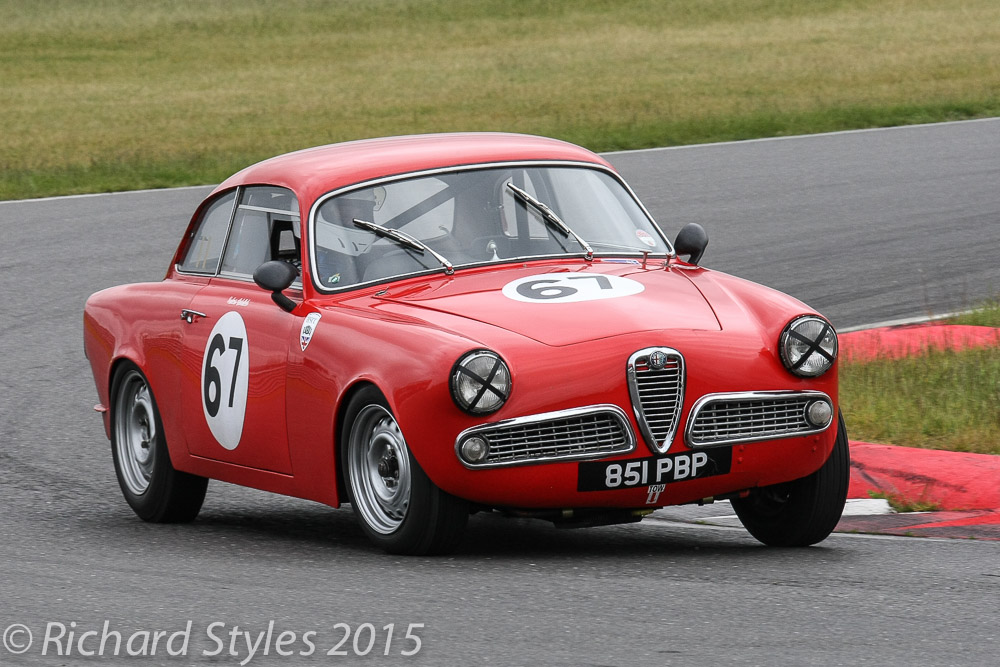 Very pretty Alfa Giulietta of Graham Oakins