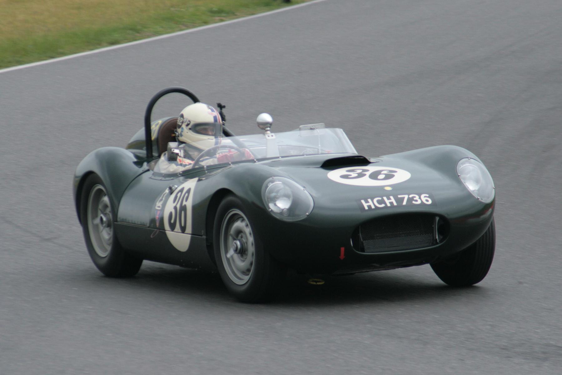 Stevee Boultbee-Brooks took pole in the Lister Jaguar Flatiron                        Photo - John Turner