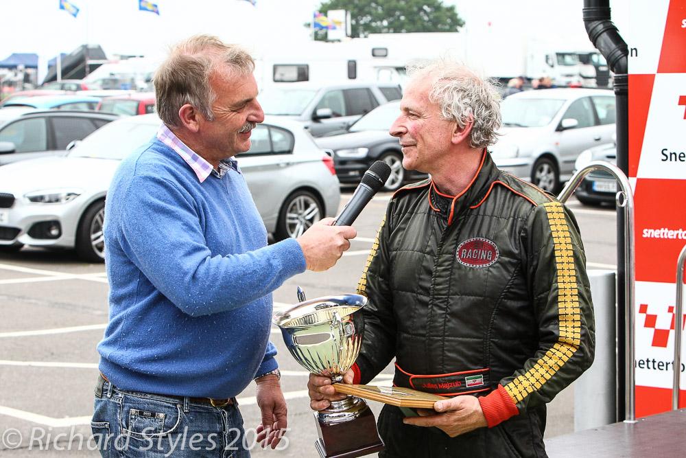 Marcus Pye interviews the winner