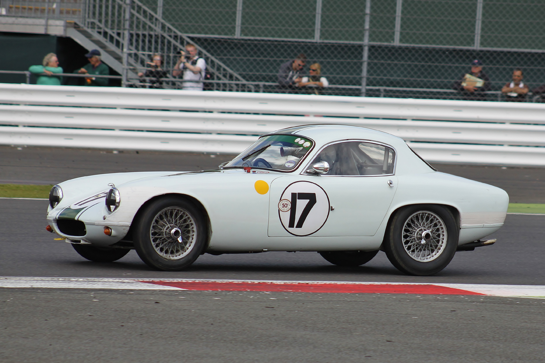 Barry Dye's Lotus Elite; such a pretty car                                                             Photo - Bob Bull, Tripos media