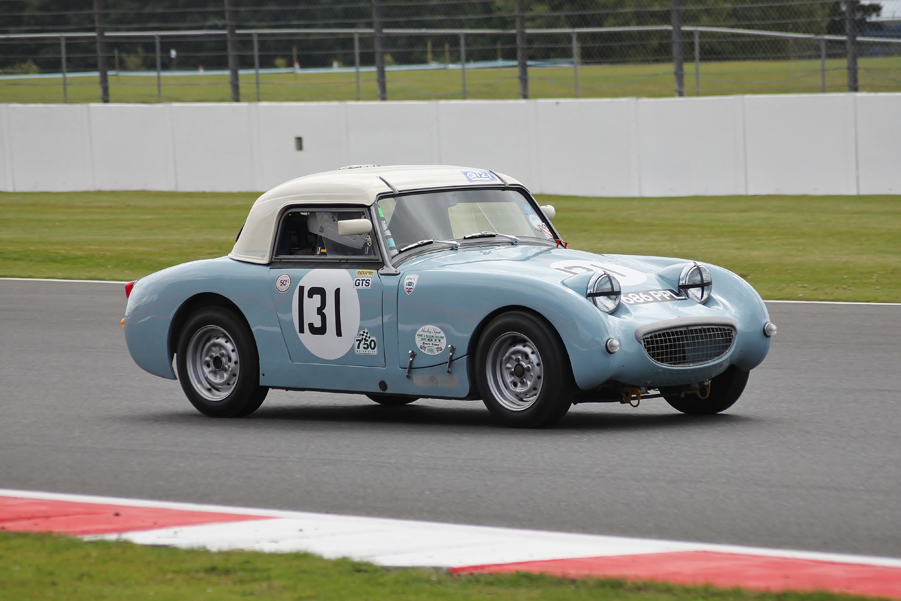 John Tewson - Austin Healey 'Frogeye' Sprite                                                       Photo - Bob Bull, Tripos media