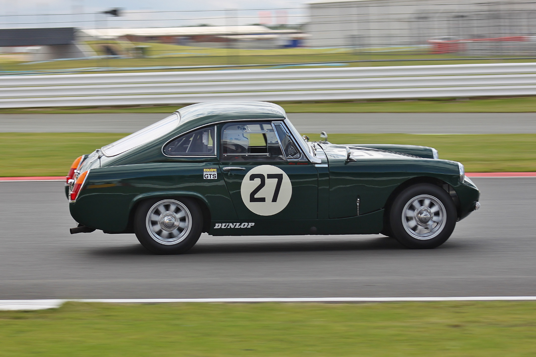 Neil Cameron - Austin Healey Ashley Sprite GT                                          Photo - Bob Bull, Tripos media
