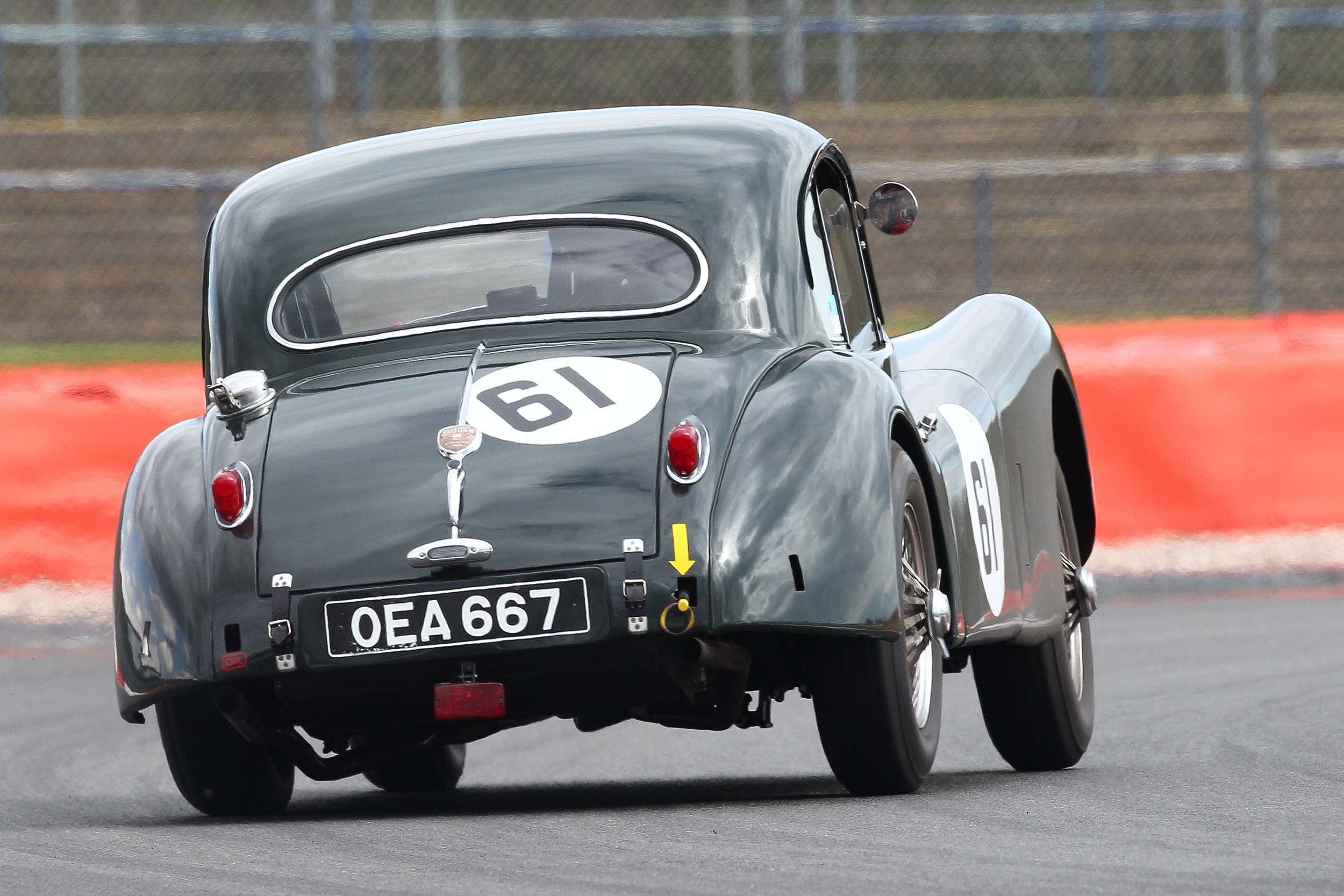 And perhaps a tad more from the Jaguar XK140 of Carlos Martinez De Campos  Photo Richard Styles
