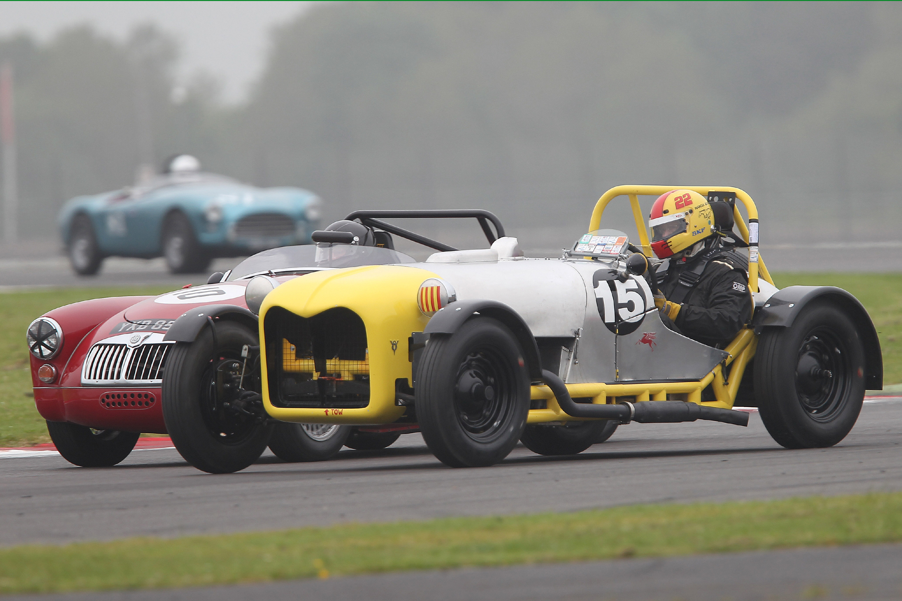 Also withdrawn was Rob Manson's Street Manning Special, to be driven by Marcus Bicknell, which had mechanical failure at Silverstone the day before and couldn't be repaired in time  Photo - Mick Walker.