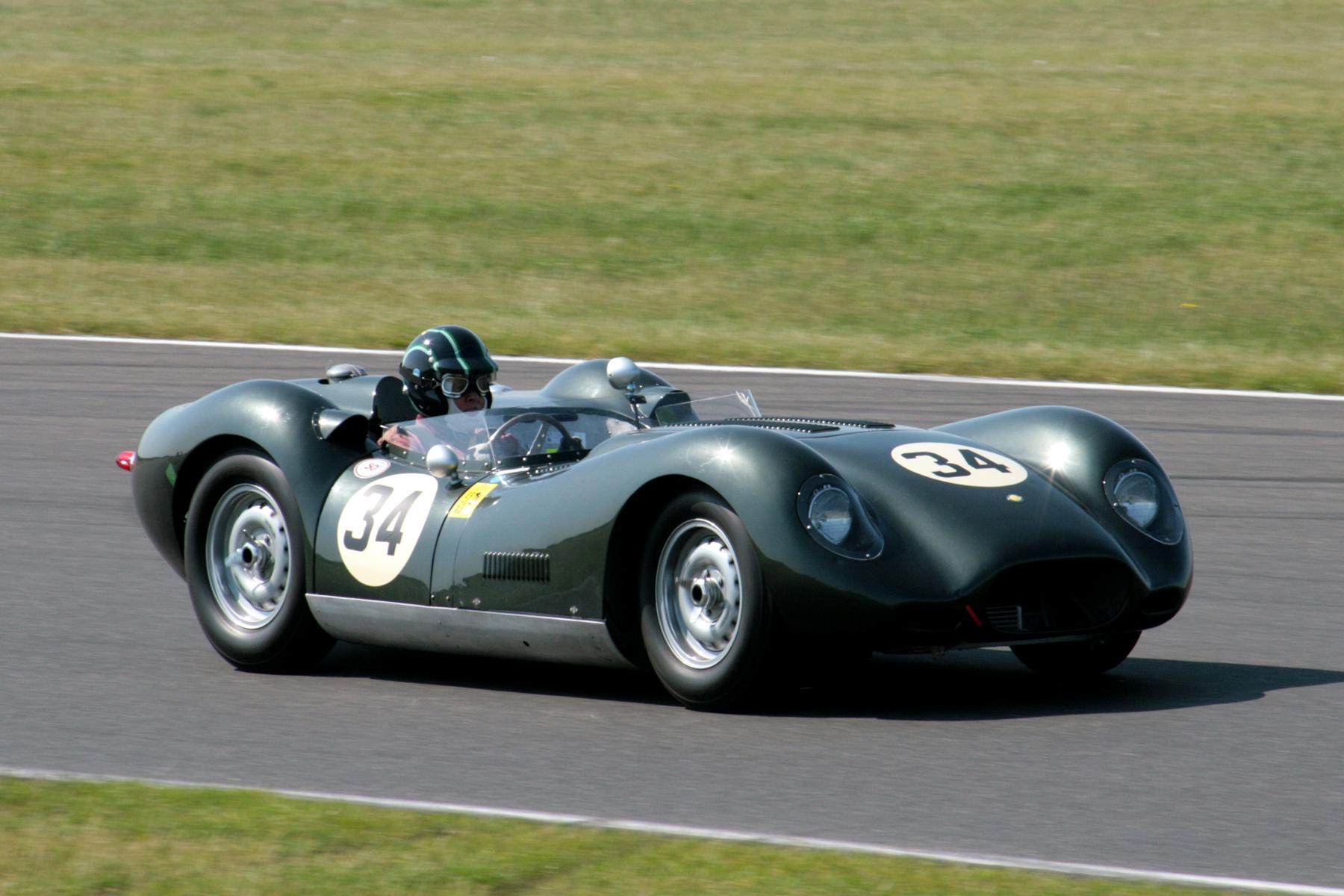 Richard Last really struggled for grip during qualifying in his Lister Jaguar  Photo - John Turner
