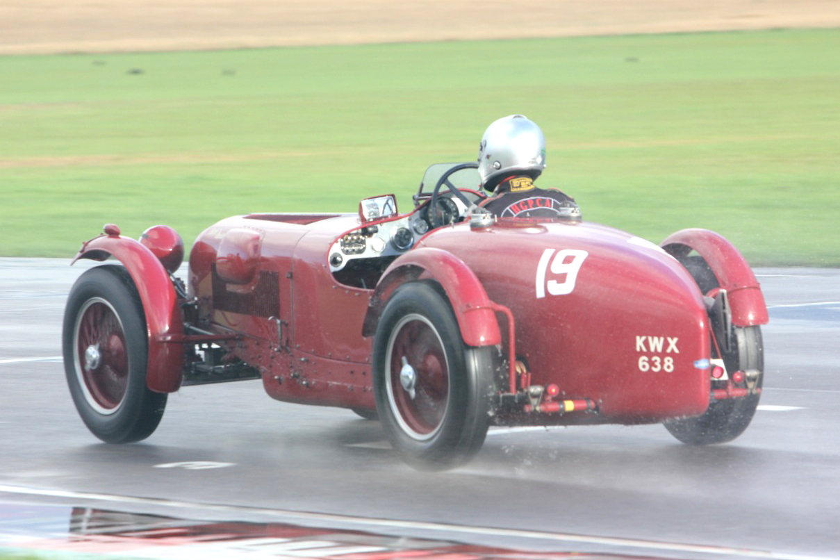 Mark Gillies drove a pacey race to take 3rd overall and retain the Mort Goodall Cup. Photo - Pat Arculus, Tripos Media