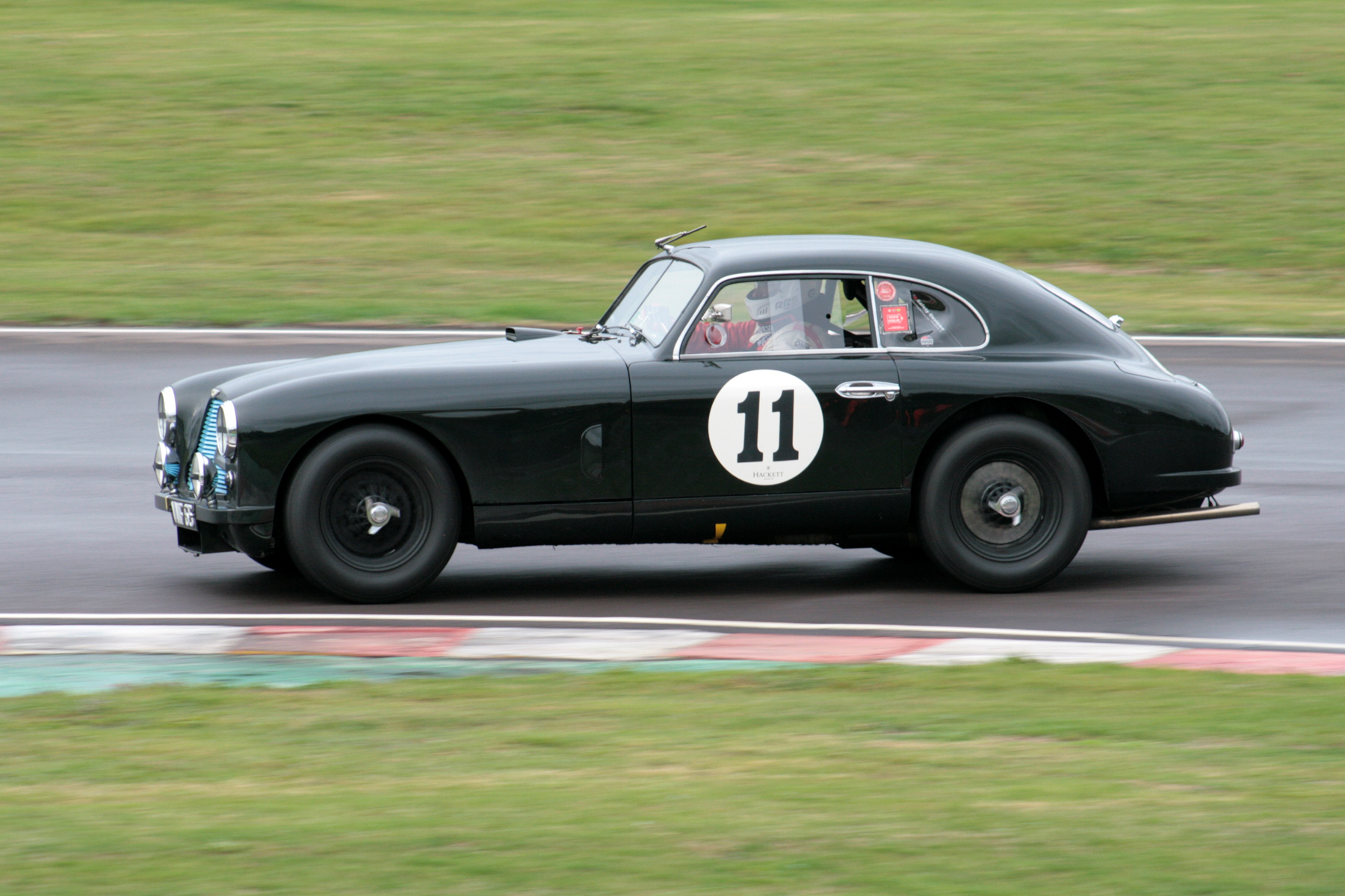 Recent Goodwood Revival winner, in the hands of Darren Turner, the ex works DB2 driven to 13th by Anthony Green  Photo -John Turner