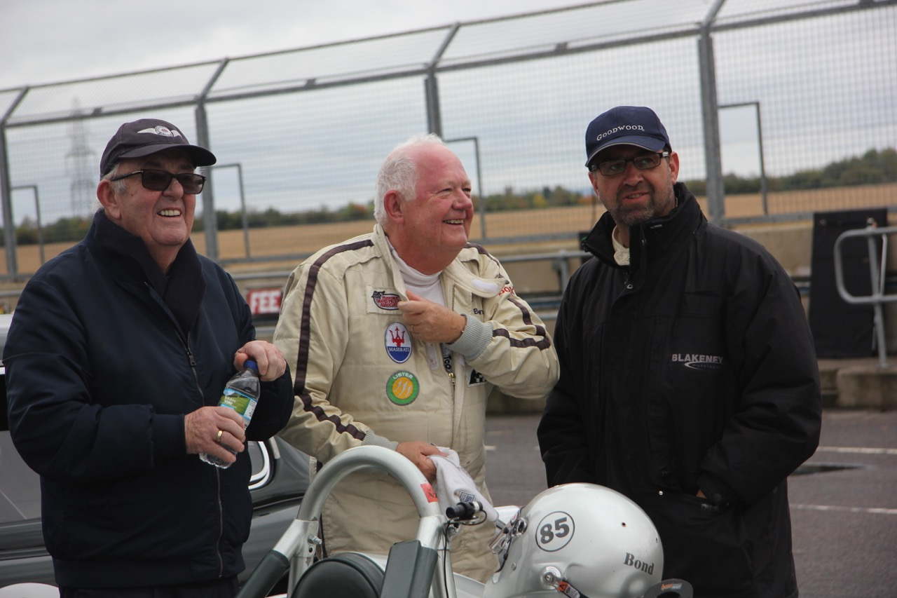 Keith Fell, Stephen Bond, Patrick Blakeney-Edwards  Photo - Pat Arculus, Tripos Media