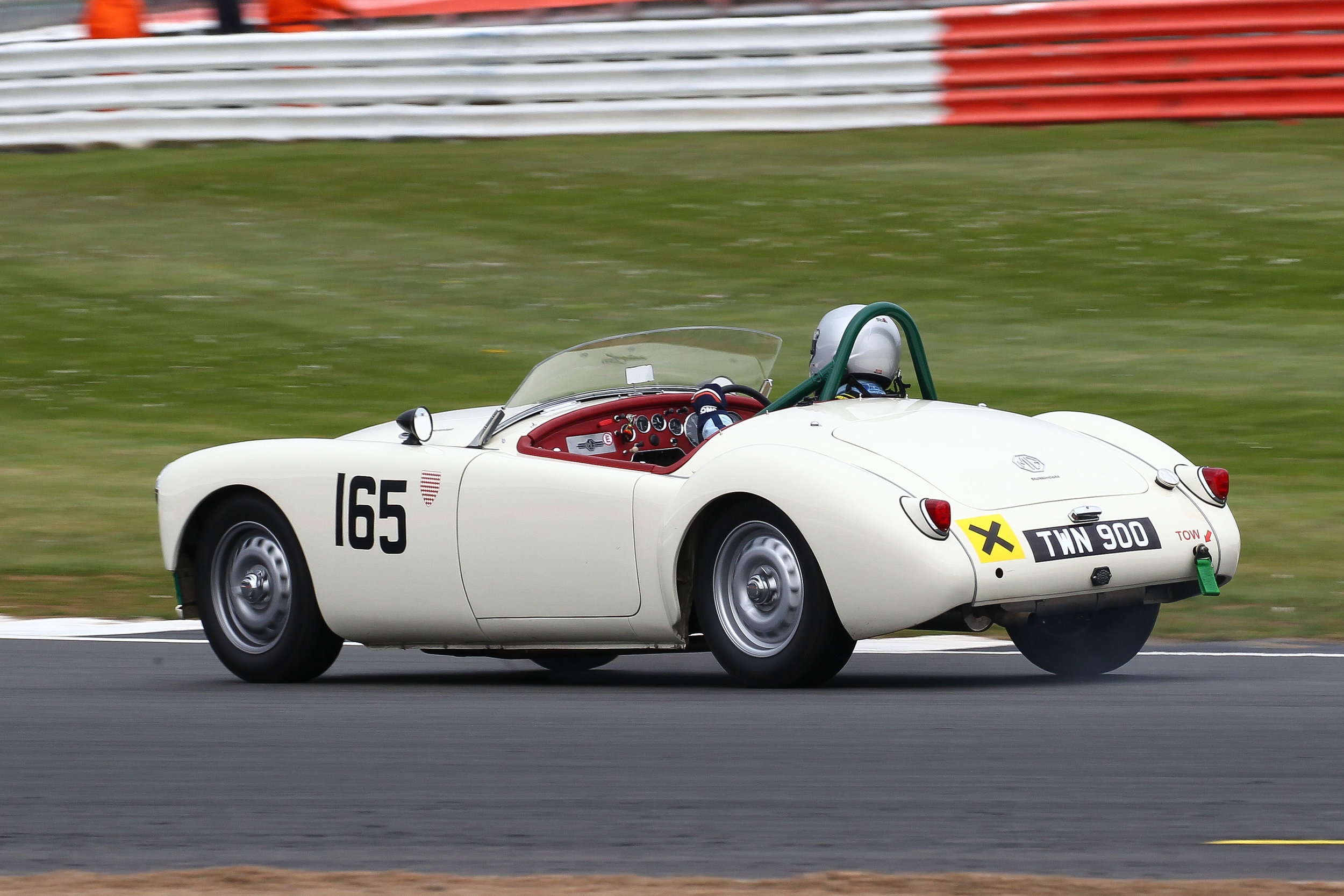Nick Burnside's MGA Twin Cam. Photo - Richard Styles