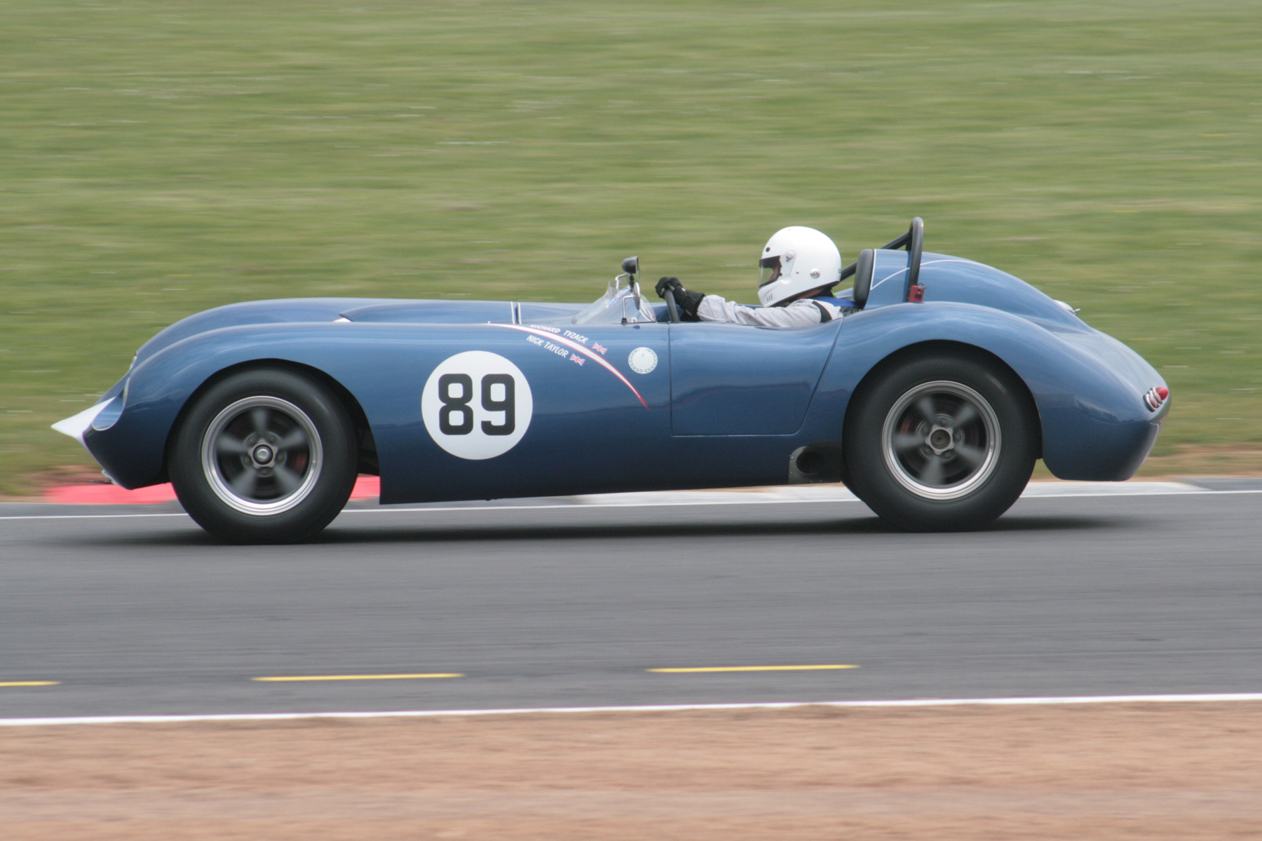Richard Tyzack in the Kellison J4R. Photo - John Turner