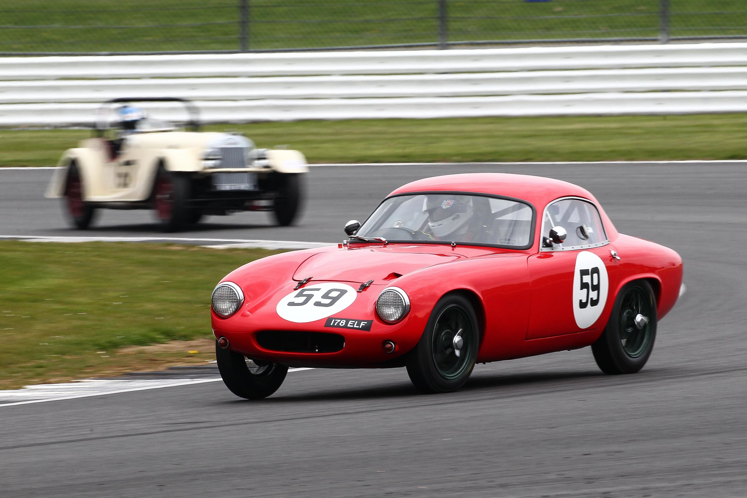 Dougal Cawley (Lotus Elite). Photo - Richard Styles