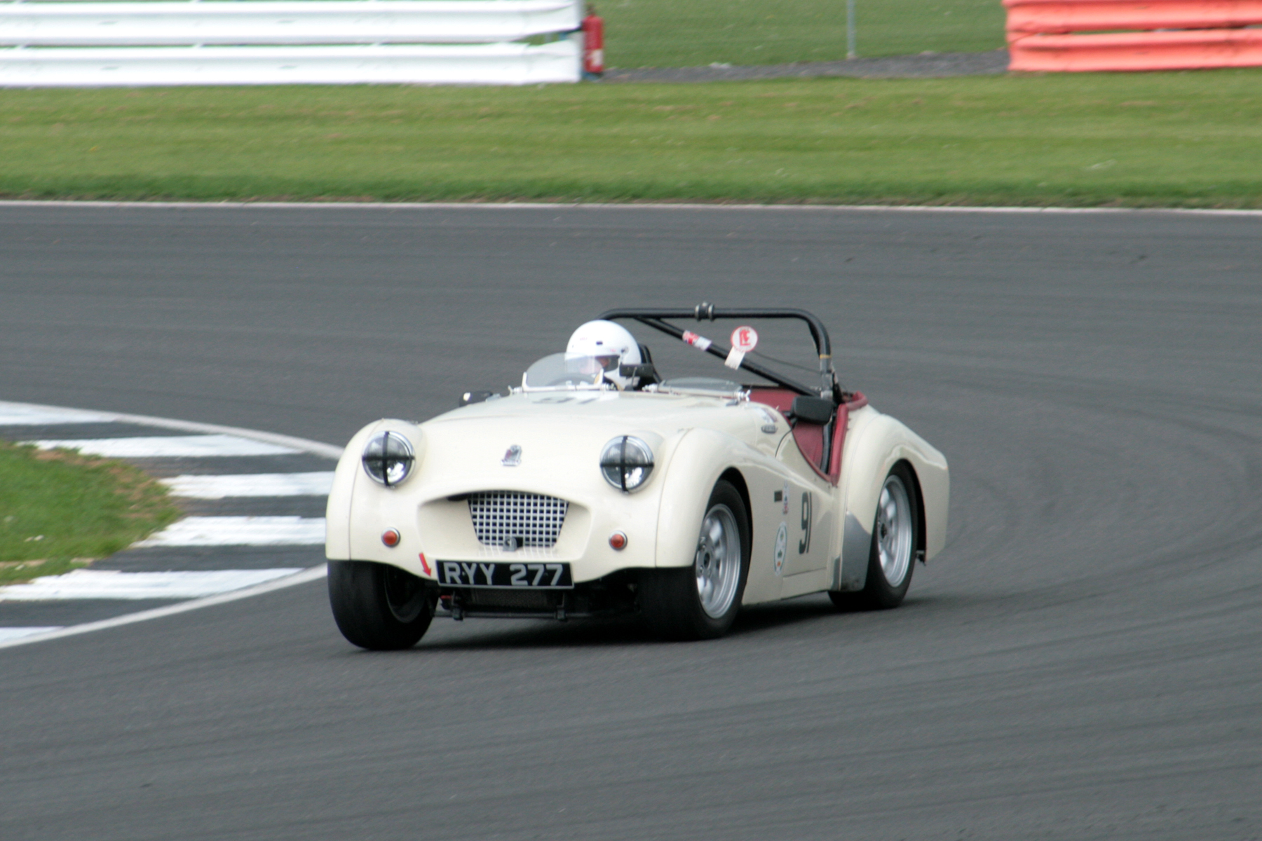Richard Owen finished 23rd in his Triumph TR2 . Photo - John Turner
