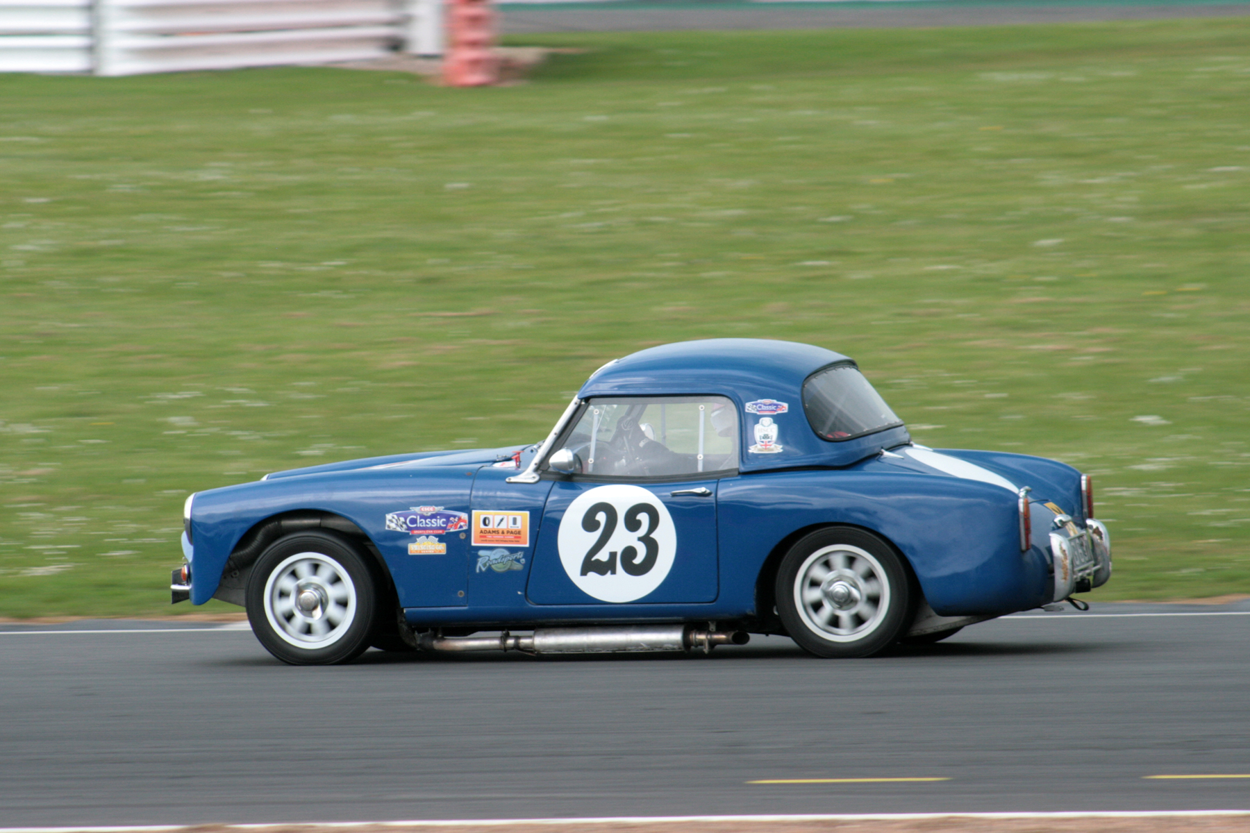 Shaun Hadrell in his Turner Mk1 Climax (FWE) finished 12th. Photo John Turner
