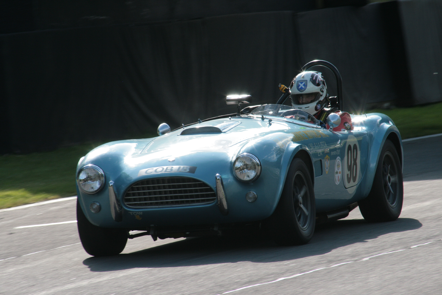Kevin Kivlochan's Cobra. Whilst not a FISCAR car, Kevin is an AC Ace owning member