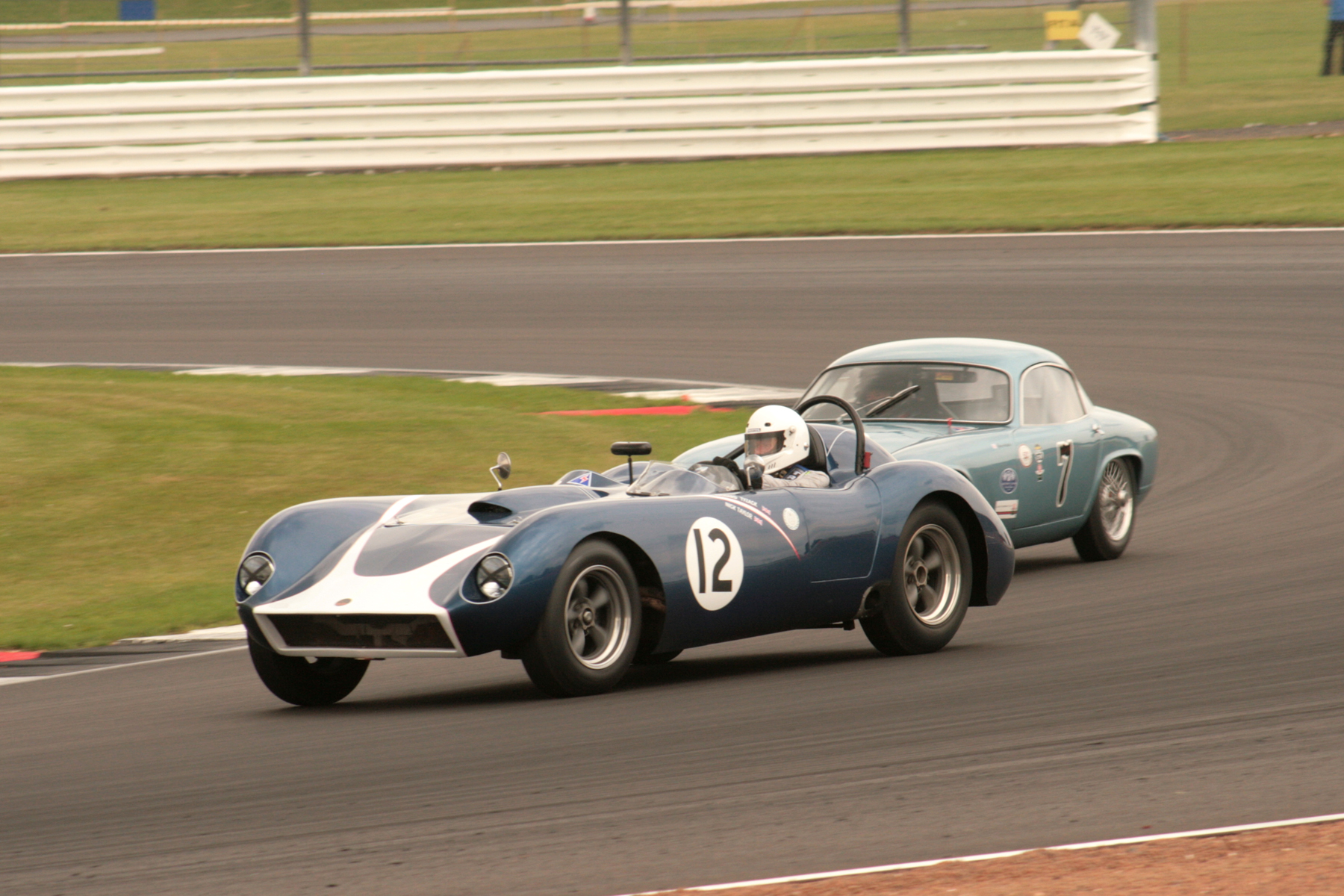 Richard Tyzack took his Kellison J4R to an unexpected victory, just pipping Brian Arculus in the Lotus Elite by half a second after 30 minutes racing.  Photo - John Turner