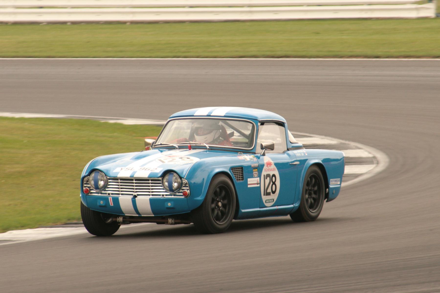 Dominic Spicer's Triumph TR4  Photo - JT