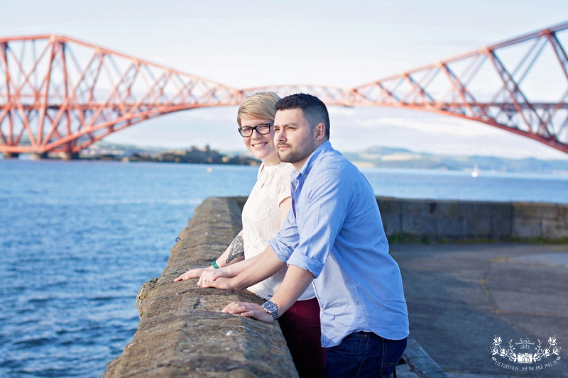 South Queensferry engagement photos