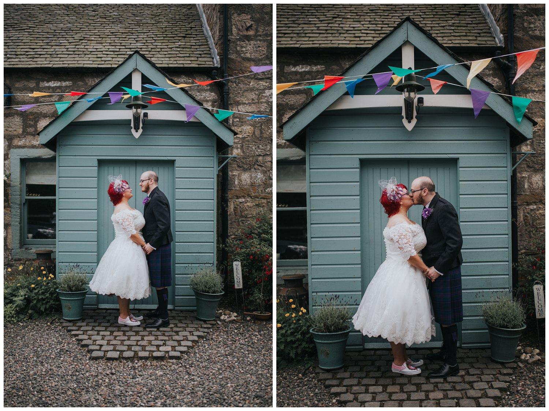 DIY Glamping wedding