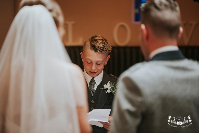 Glenskirlie Castle wedding
