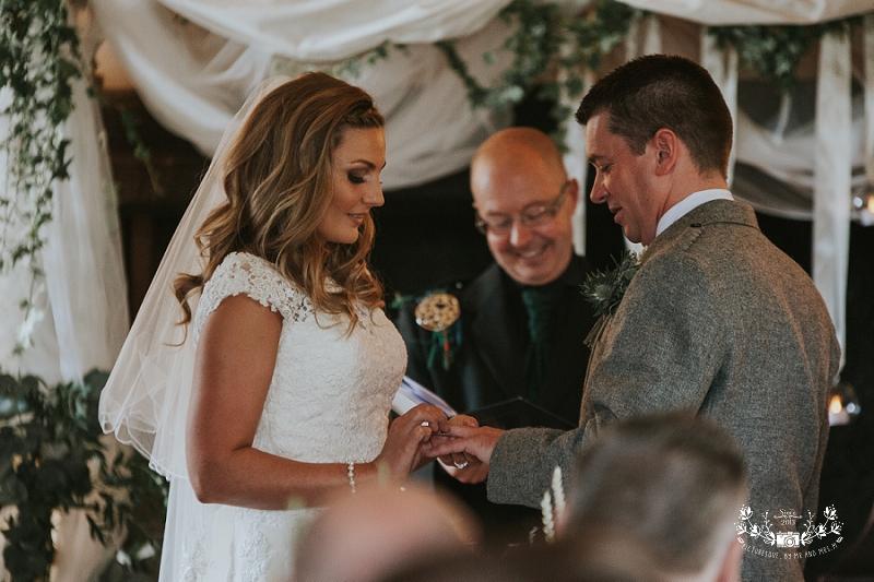 Tullibole Castle wedding