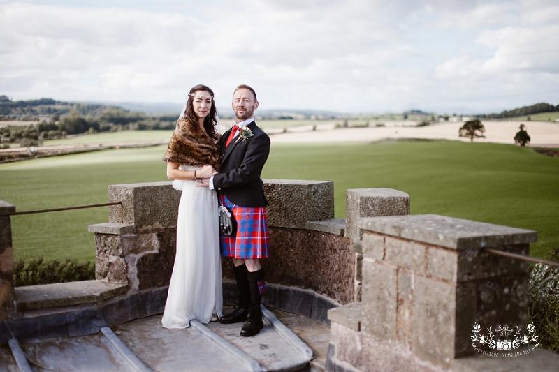 Plane Castle wedding