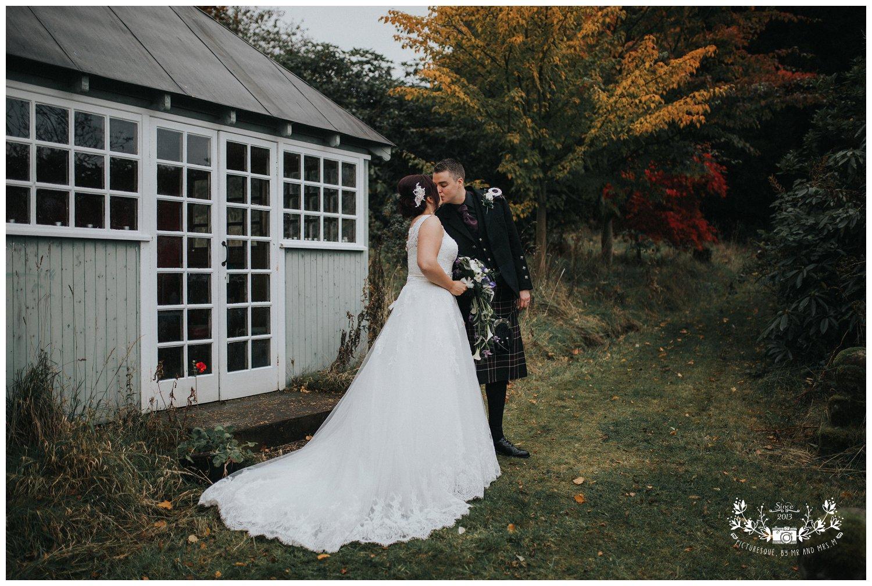 Fingask Castle wedding