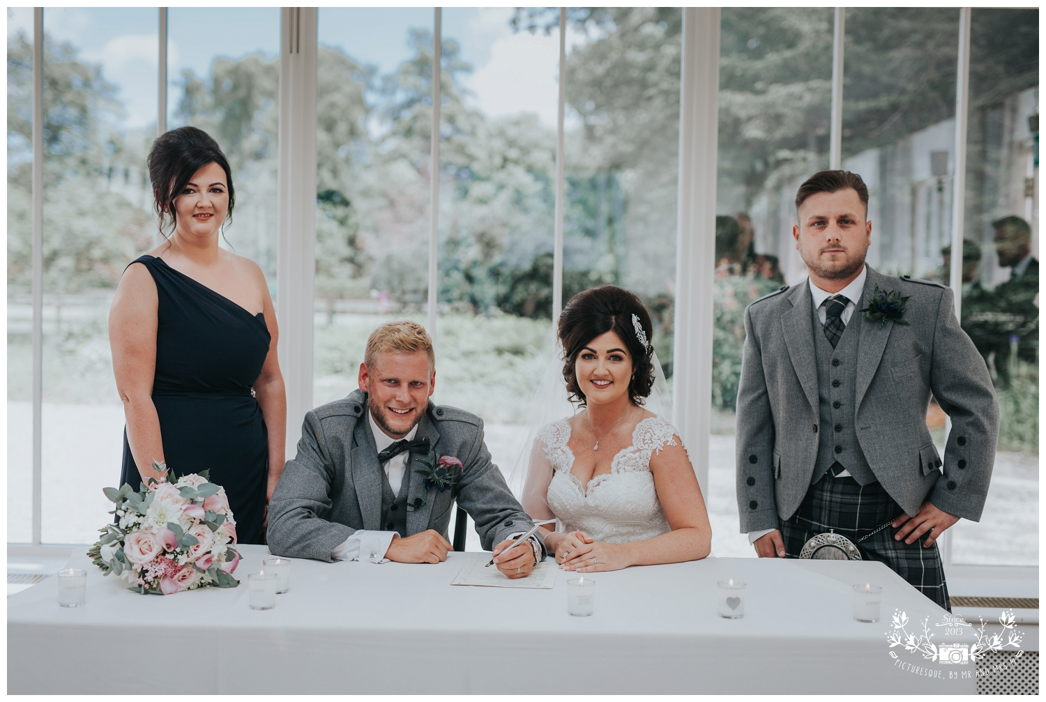 Carlowrie Castle  Wedding Photography, Picturesque by Mr and Mrs M_0045.jpg