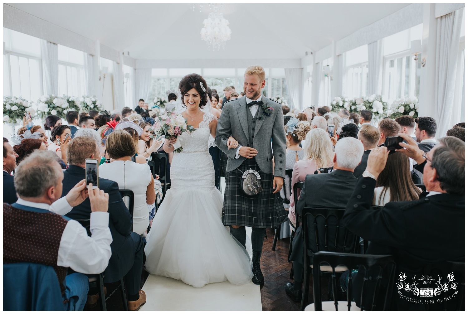 Carlowrie Castle  Wedding Photography, Picturesque by Mr and Mrs M_0046.jpg