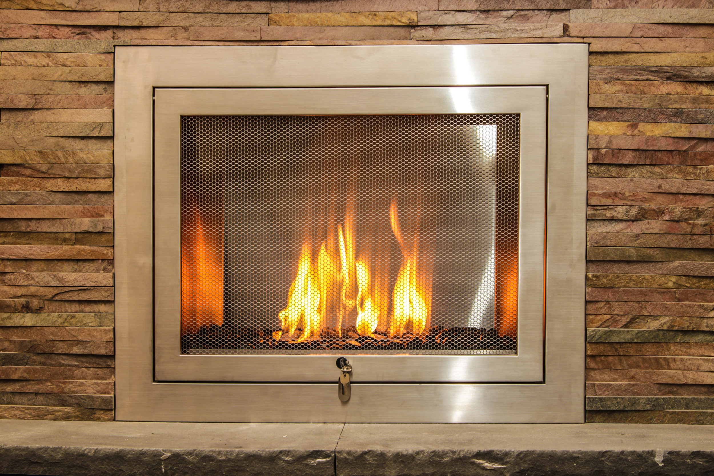 Vent free fireplace safety