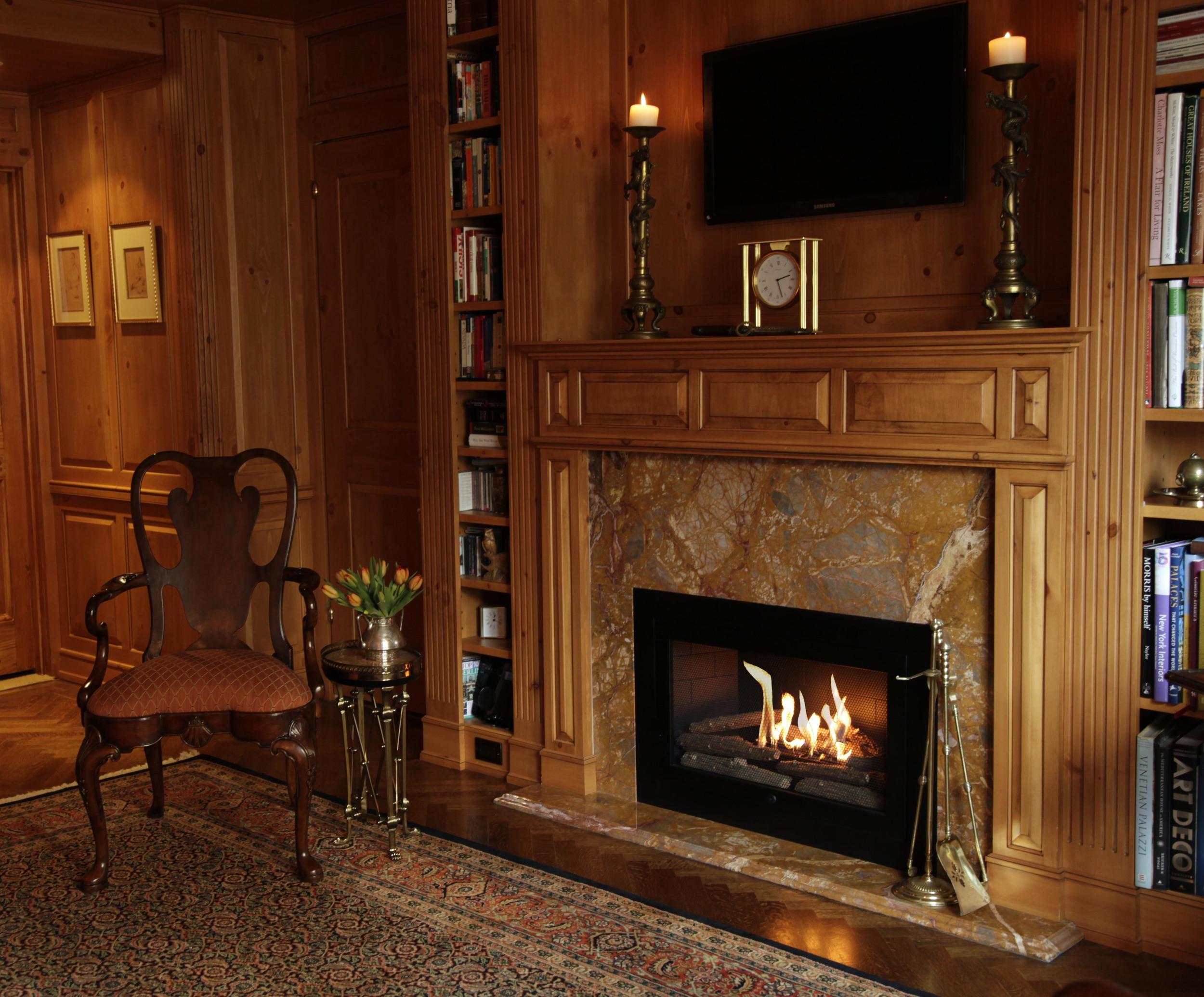 Smokeless fireplace