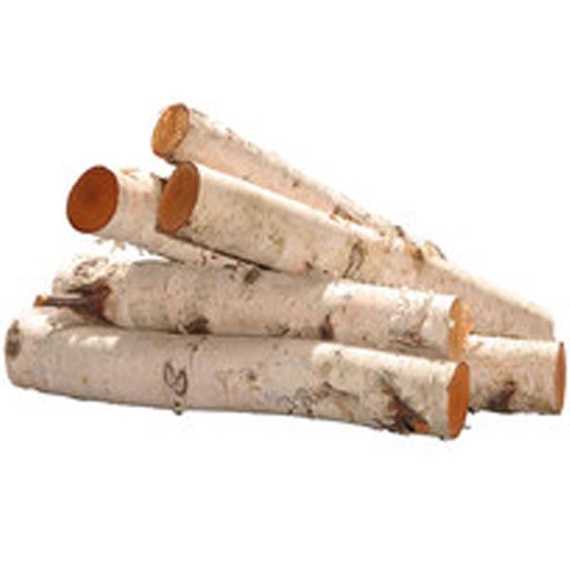 Birch Stacking Logs