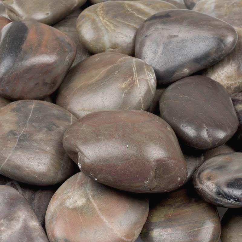 Brown River Stones