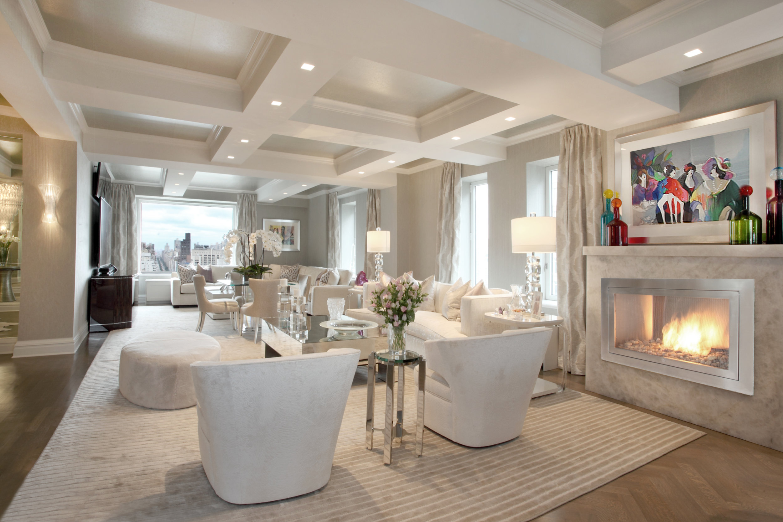 Project by Patricia Bonis Interiors & Stanley Michael & Co. Inc.