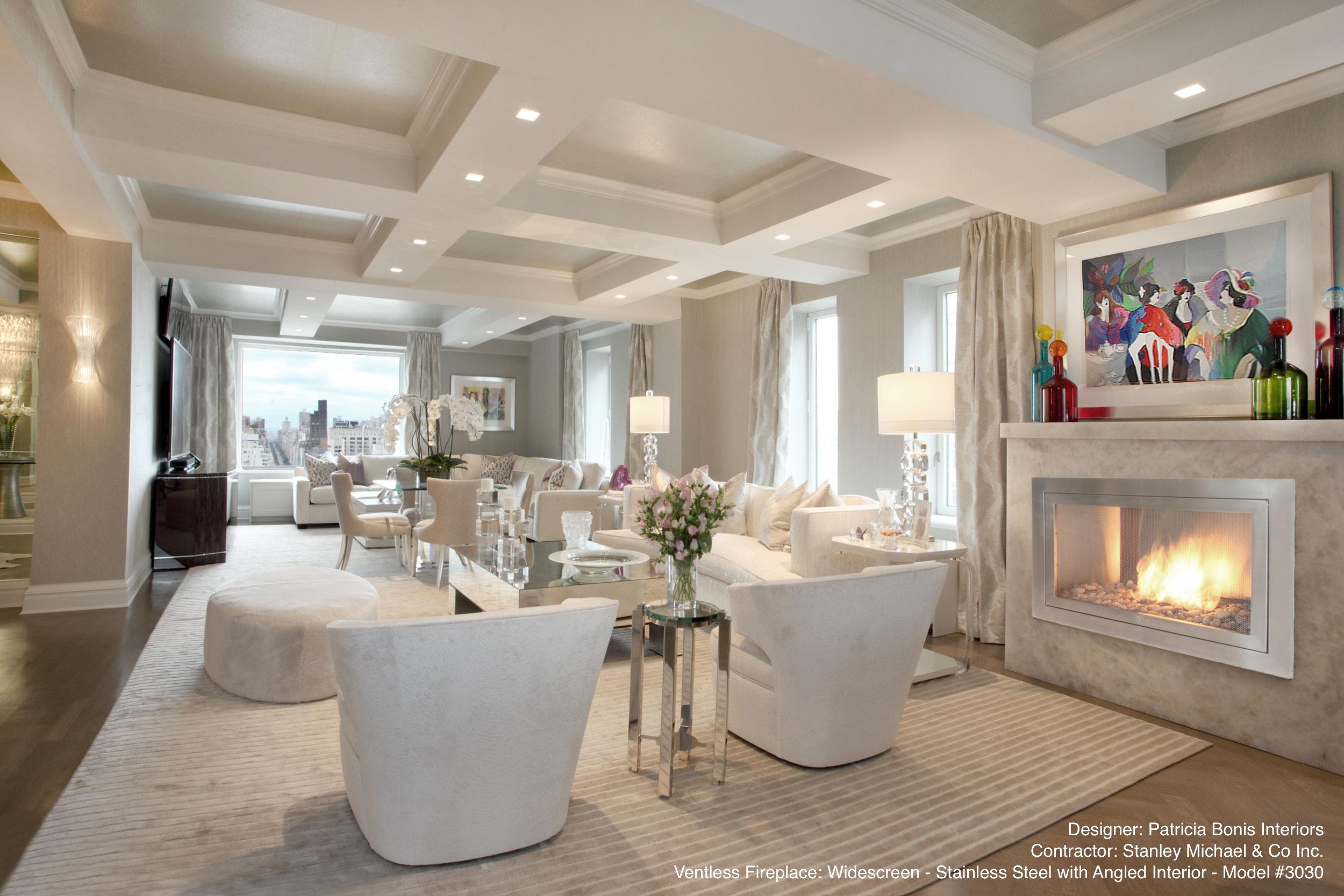 Luxury Interior Design Fireplace Design Ideas